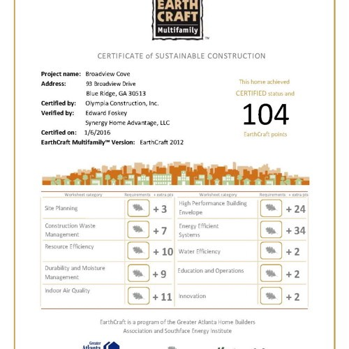 Broadview-Cove-EarthCraft-Certificate