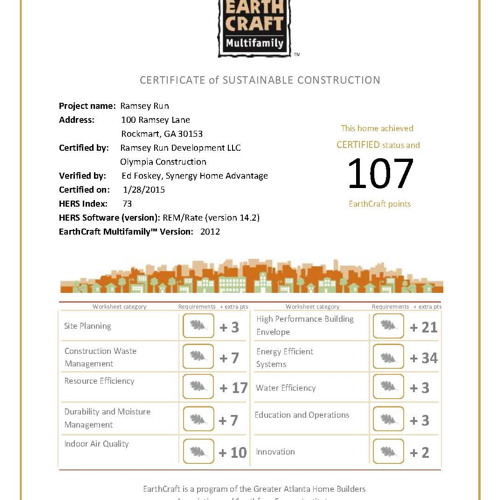 Ramsey-Run-EarthCraft-Certificate